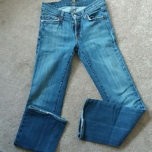 7 FOR ALL MANKIND Vintage flare low rise
